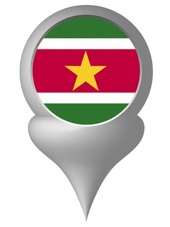 suriname: Suriname Stock Illustratie