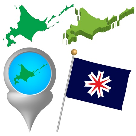 japan map Stock Vector - 16520167
