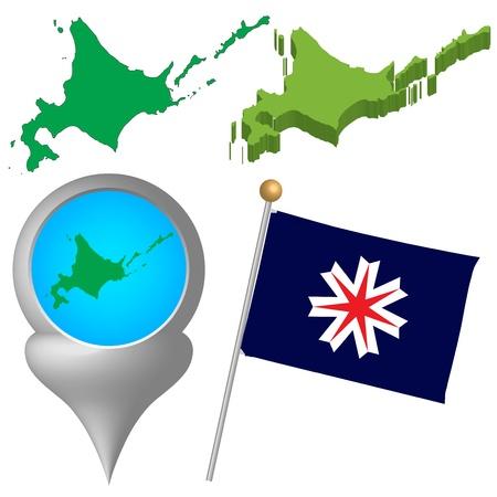 japan map Stock Vector - 16520167