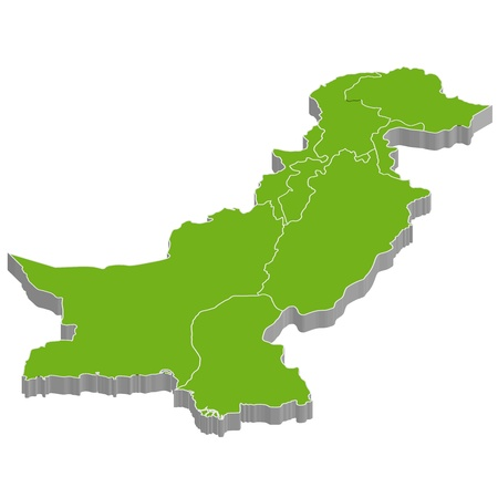 Pakistan Stock Vector - 16909073