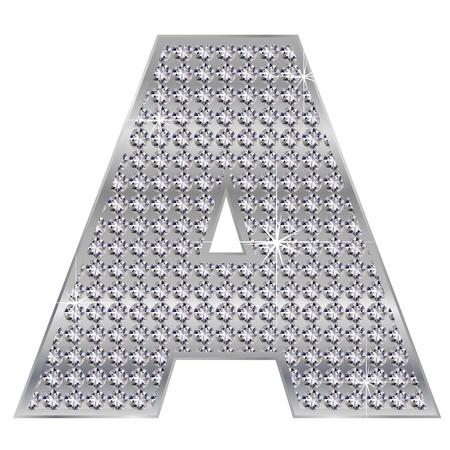 A alphabet Stock Vector - 17075979