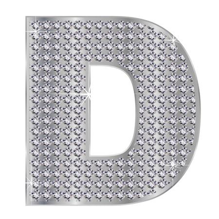 D のアルファベット 写真素材 - 17075976