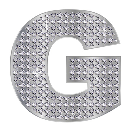 G alphabet Stock Vector - 17075977