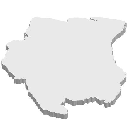Suriname Stock Vector - 17375226