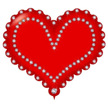 winter cherry: Valentine Illustration
