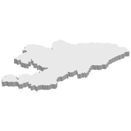 Kirigisutan Stock Vector - 17473383