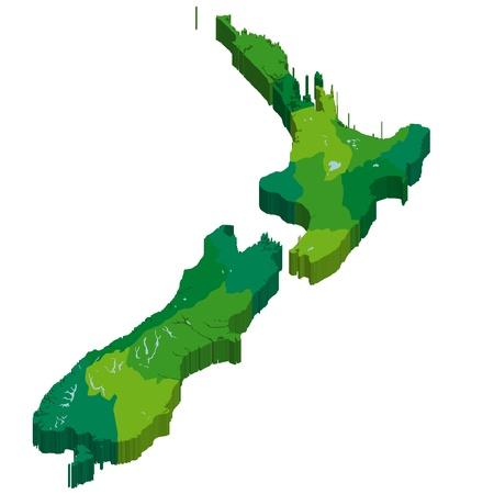 New Zealand Stock Vector - 17603509
