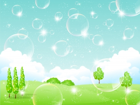 Bubbles Nature Vector