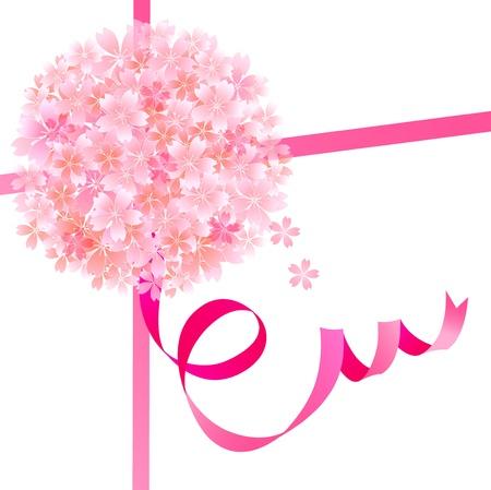 graduate asian: Cherry ribbon