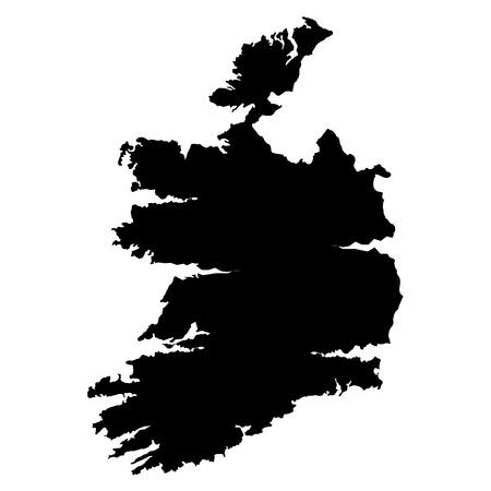 3D map wilderness Ireland Stock Vector - 18002916