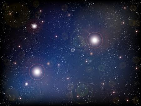 惑星宇宙星流れ星  イラスト・ベクター素材