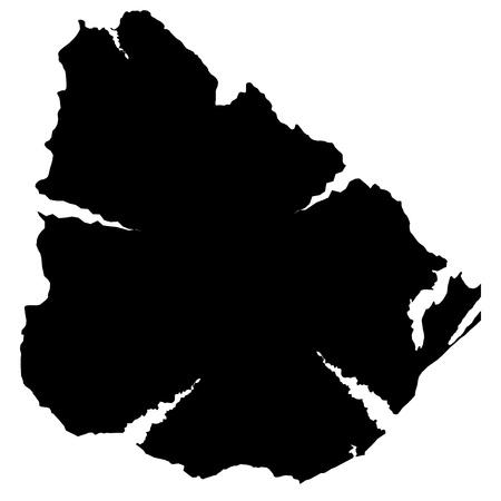 plateau: Uruguay Illustration