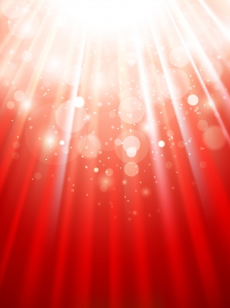 Background solar light curtain Stock Vector - 18275182