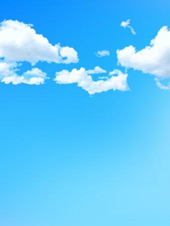 nubes cielo: Cielo azul cielo de fondo