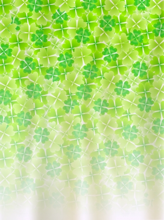 Four Leaf Clover leaf background Stock Vector - 18701470