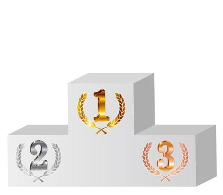 podium: 1 2 3 Laurel Award
