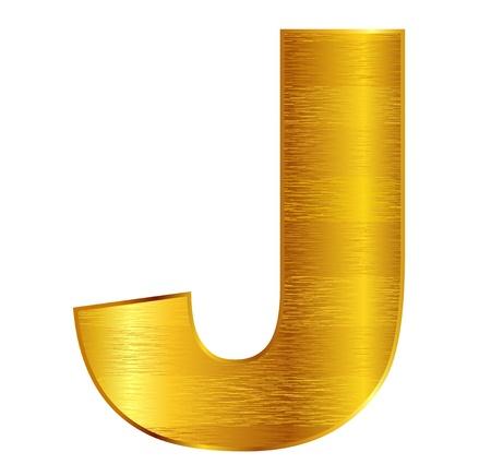 j: J alphabet emblem