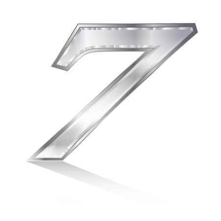 he no background: Emblem number 7