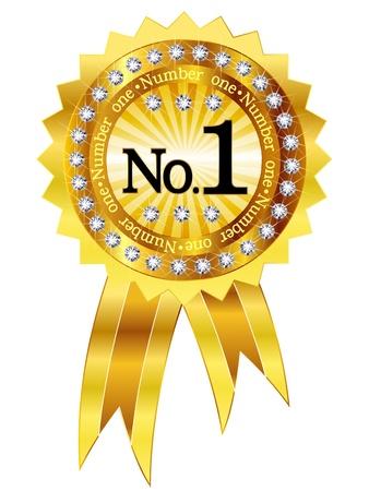 1 frame emblem medal Stock Vector - 19131611