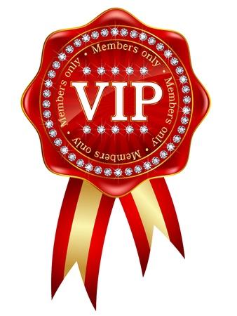 VIP frame medal emblem