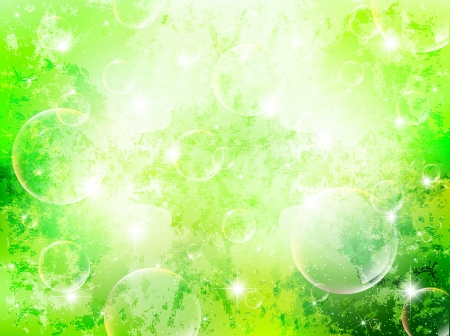 Background green plant leaf sky Vector