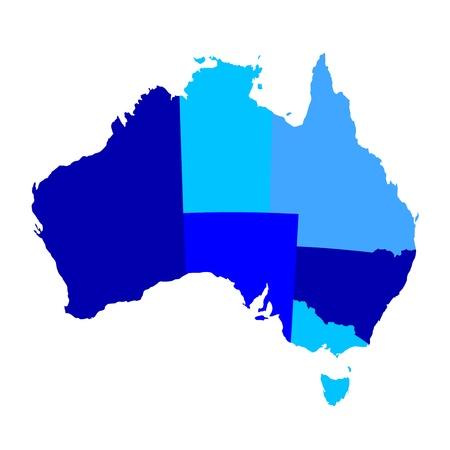 map of australia: Australia