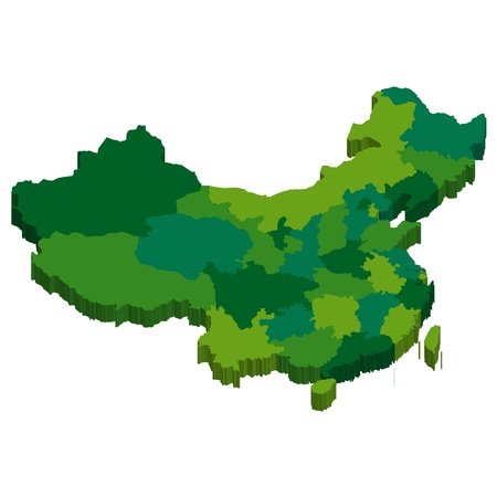 no background: China