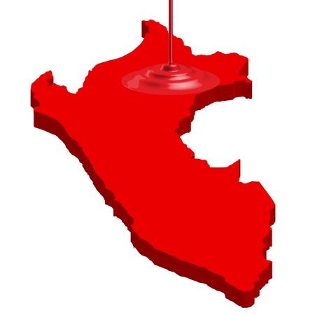 peru map: Peru map country