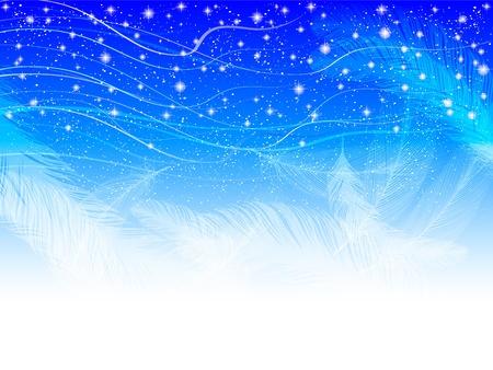 Feather star sky