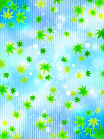 aoba: Maple sky background