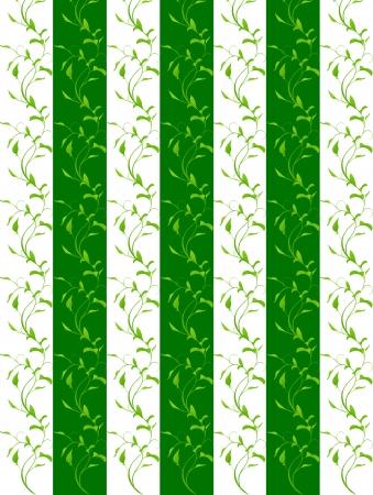 aoba: Leaf background frame Illustration