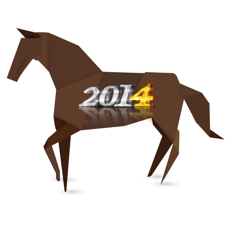 new year s day: 2014 horse Horse