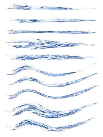 液体の水ブラシ