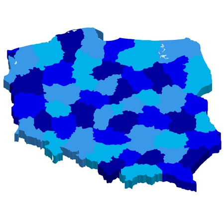 ポーランド  イラスト・ベクター素材
