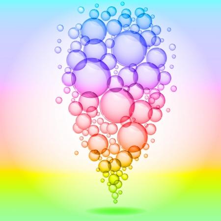 Bubble background soap bubbles photo