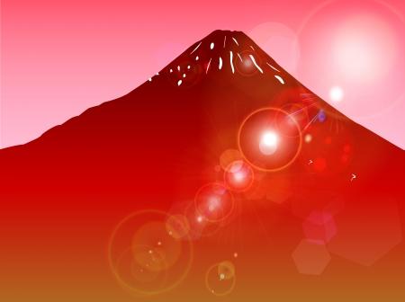 world heritage: Fuji world heritage background