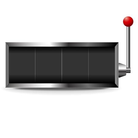 Slot frame lever Illustration