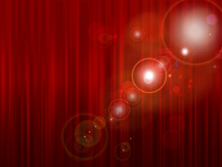 Curtain red curtain background 向量圖像