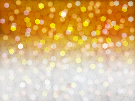背景光ゴールド × シルバー
