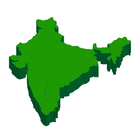 map of india: Map country