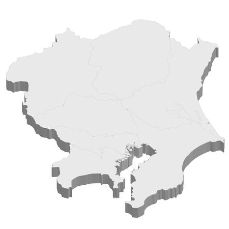 kanto: Kanto  map  japan