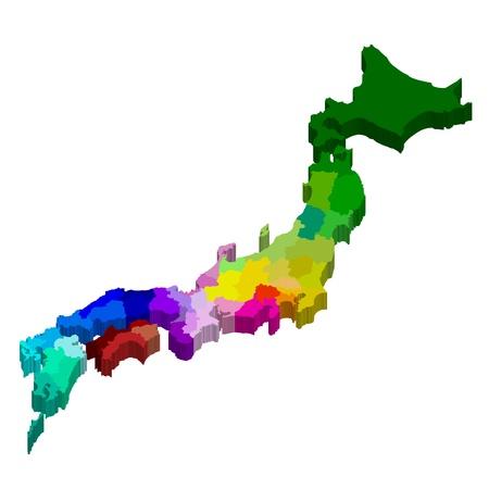 日本地図の状態 写真素材 - 21920788