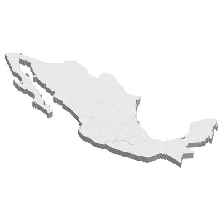 mexiko karte: Mexiko-Karte Land