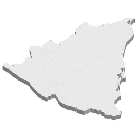 Nicaragua map country