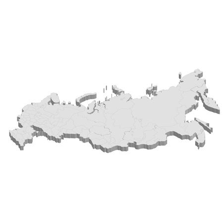 country: Russia Map country Illustration