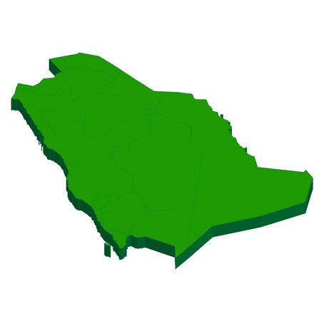 country: Saudi Arabia Map country