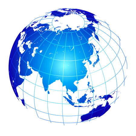 Earth globe world Иллюстрация