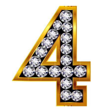桁番号エンブレム