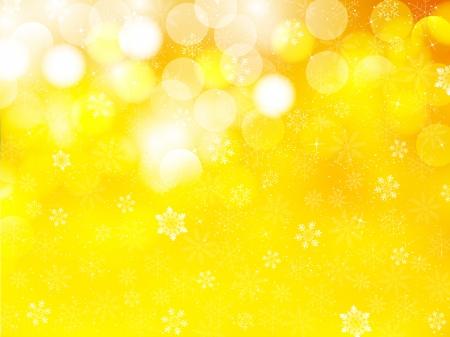 クリスマスの雪の背景  イラスト・ベクター素材