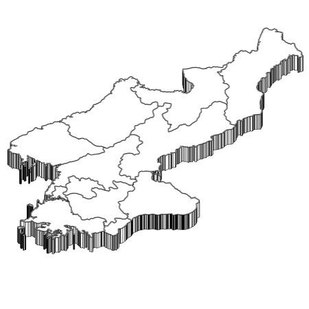 north korea: North Korea North Korea Map